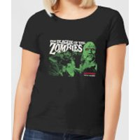 Hammer Horror Plague Of The Zombies Women's T-Shirt - Black - 5XL - Black - Zombies Gifts