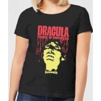 Hammer Horror Dracula Prince Of Darkness Women's T-Shirt - Black - XXL - Black