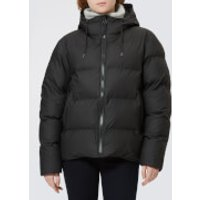 RAINS Women's Puffer Jacket - Black - XXS/XS
