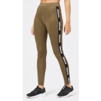 Ivy Park Women's Active Logo Elastic Leggings - Crocodile - XS - Green