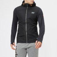 Superdry Sport Men's Active Reflective Hybrid Jacket - Black - L - Black