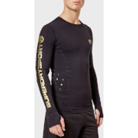 Superdry Sport Men's Performance Compression Long Sleeve Top - Black - M - Black