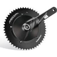 Miche Pistard Air Chainset - 172.5mm - 50T - Black