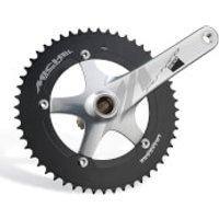 Miche Pistard 2.0 Chainset - 165mm - 48T - Silver
