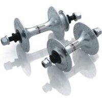 Miche Primato Large Flange Track Hubs Pair - 28 Hole - Silver