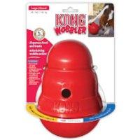KONG Wobbler Treat Dispensing Dog Toy - Standard
