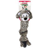 KONG Jumbo Stretchezz Snow Leopard Dog Toy