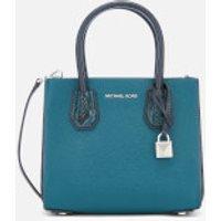 MICHAEL MICHAEL KORS Womens Mercer Medium Messenger Bag - Luxe Teal