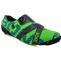 Bont Riot+ Road Shoes - EU 39 - Green/Grey