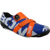 Bont Riot+ Road Shoes - EU 44 - Blue/Red