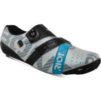 Bont Riot+ Road Shoes - EU 47 - White/Black