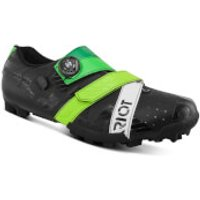Bont Riot+ MTB Shoes - EU 44.5 - Black/Green