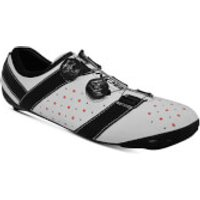 Bont Vaypor + Road Shoes - EU 48 - Normal Fit - White/Black