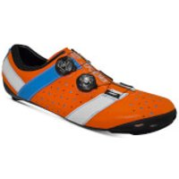 Bont Vaypor + Road Shoes - EU 44 - Normal Fit - Orange/Blue