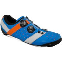 Bont Vaypor + Road Shoes - EU 45 - Normal Fit - Blue/Orange