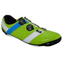 Bont Vaypor + Road Shoes - EU 42 - Normal Fit - Green/Blue