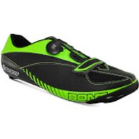 Bont Blitz Road Shoes - EU 45 - Black/Green