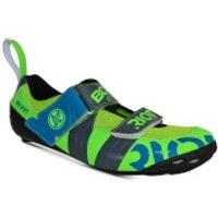 Bont Riot TR+ Road Shoes - EU 42.5 - Green/Grey
