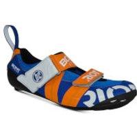Bont Riot TR+ Road Shoes - EU 44.5 - Blue/Red
