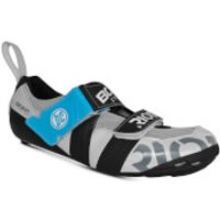 Bont Riot TR+ Road Shoes - EU 44.5 - White/Black