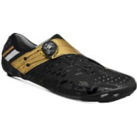 Bont Helix Road Shoes - EU 47 - Black/Gold
