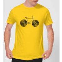 Florent Bodart Velophone Men's T-Shirt - Yellow - M - Yellow