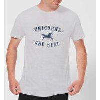 Florent Bodart Unicorns Are Real Men's T-Shirt - Grey - S - Grey