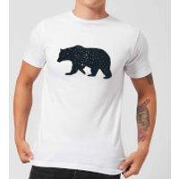 Florent Bodart Bear Men's T-Shirt - White - 4XL - White