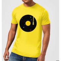 Florent Bodart Music Everywhere Men's T-Shirt - Yellow - S - Yellow - Music Gifts