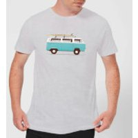 Florent Bodart Blue Van Men's T-Shirt - Grey - S - Grey