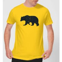 Florent Bodart Bear Men's T-Shirt - Yellow - M - Yellow