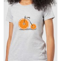 Florent Bodart Citrus Women's T-Shirt - Grey - M - Grey