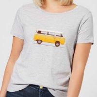 Florent Bodart Yellow Van Women's T-Shirt - Grey - XXL - Grey