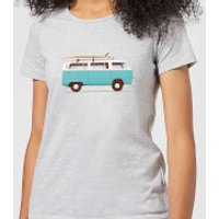Florent Bodart Blue Van Women's T-Shirt - Grey - S - Grey