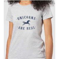 Florent Bodart Unicorns Are Real Women's T-Shirt - Grey - XL - Grey