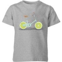 Florent Bodart Citrus Lime Kids' T-Shirt - Grey - 9-10 Years - Grey