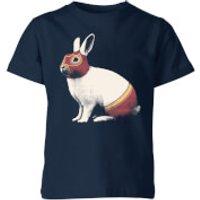 Lapin Catcheur Kids' T-Shirt - Navy - 9-10 Years - Navy