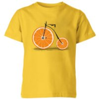 Florent Bodart Citrus Kids' T-Shirt - Yellow - 9-10 Years - Yellow