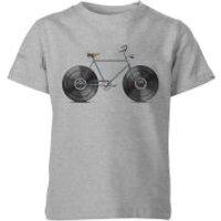 Florent Bodart Velophone Kids' T-Shirt - Grey - 3-4 Years - Grey