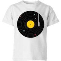 Florent Bodart Music Everywhere Kids' T-Shirt - White - 11-12 Years - White - Music Gifts