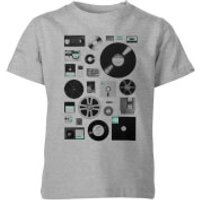 Florent Bodart Data Kids' T-Shirt - Grey - 11-12 Years - Grey