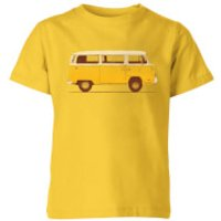 Florent Bodart Yellow Van Kids' T-Shirt - Yellow - 3-4 Years - Yellow