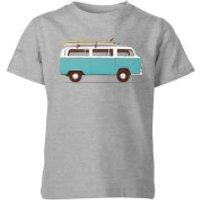 Florent Bodart Blue Van Kids' T-Shirt - Grey - 3-4 Years - Grey