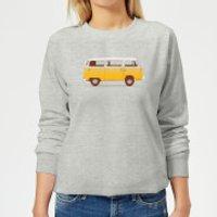 Florent Bodart Yellow Van Women's Sweatshirt - Grey - M - Grey