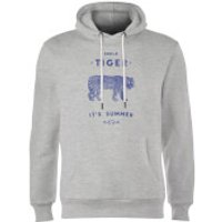 Florent Bodart Smile Tiger Hoodie - Grey - XL - Grey