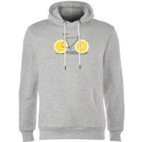 Florent Bodart Citrus Lemon Hoodie - Grey - L - Grey