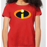 Image of Incredibles 2 Logo Women's T-Shirt - Red - L - Red