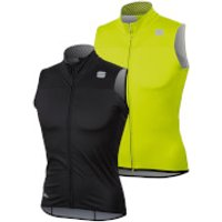 Sportful BodyFit Pro Windstopper Vest - XXL - Orange SDR/Black