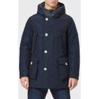 Woolrich Mens No Fur Arctic Parka - Melton Blue - L - Blue