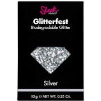 Sleek MakeUP Glitterfest Biodegradable Glitter - Silver 10g